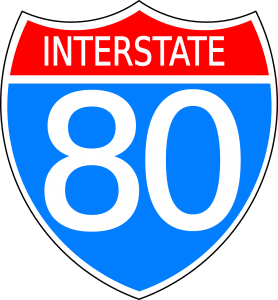''Interstate 80''. - something interstate moving companies NYC see pretty often