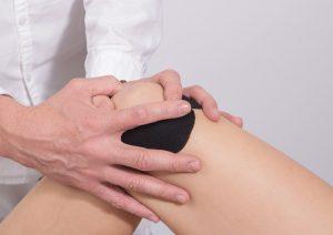 knee, massage