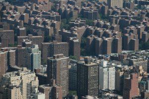 skyline of Bronx