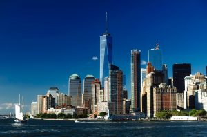 Manhattan skyline representing moving your business to manhattan