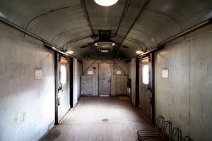 Empty train storage