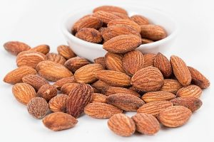 almonds as a healthy snack