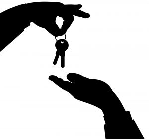 keys that symbolize renting out your home