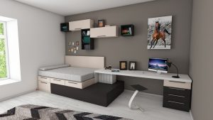 functional furniture in bedroom